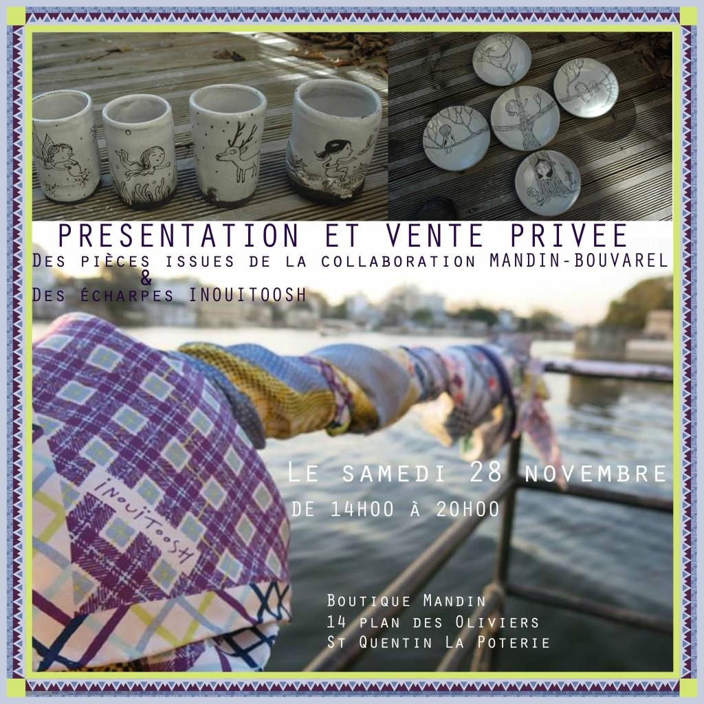 vente privée mandin / bouvarel / chunleau